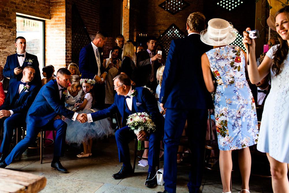 Shustoke Farm barn wedding photographer
