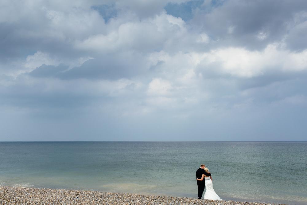 Norfolk beach wedding photography