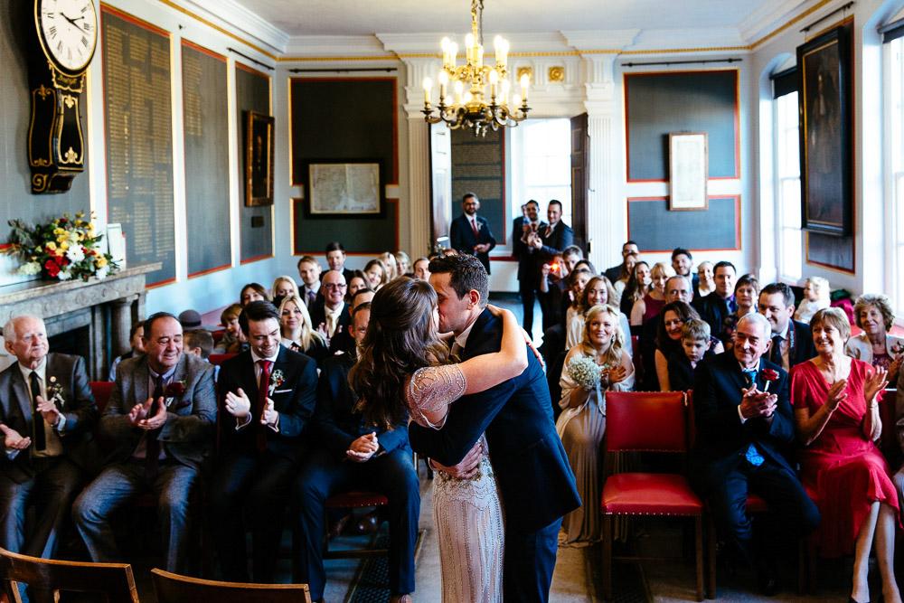 Rye town hall wedding photographs