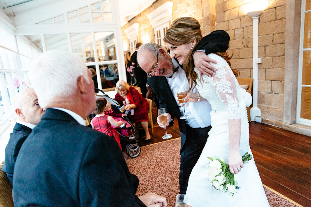 Devonshire Arms hotel winter wedding
