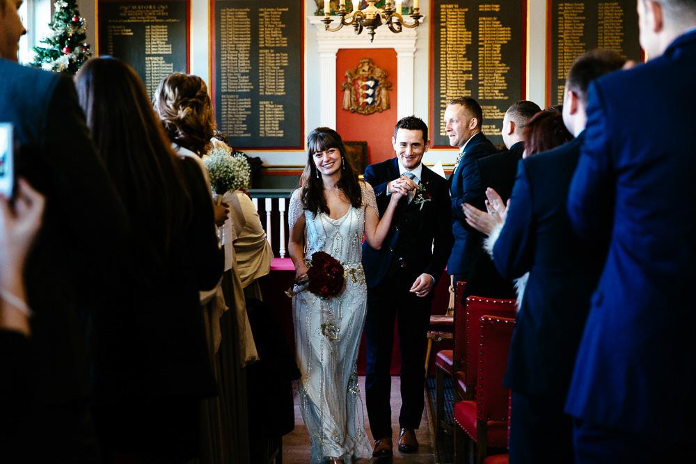 Rye town hall wedding photographers
