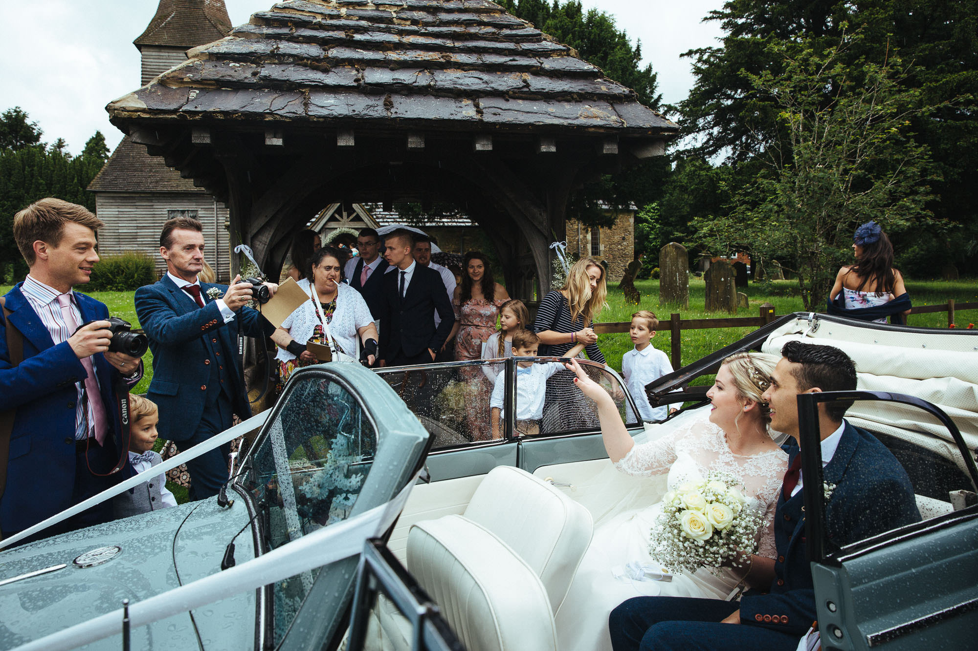 newdigate church wedding