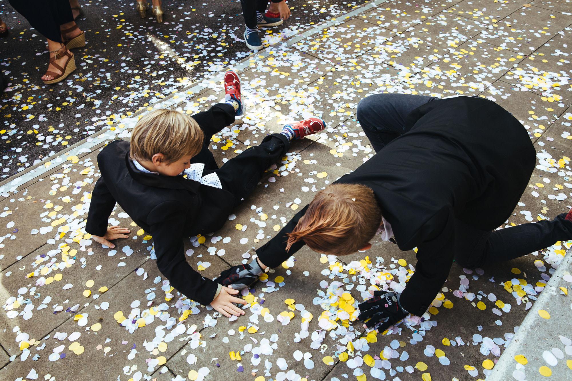 confetti stoke newington town hall