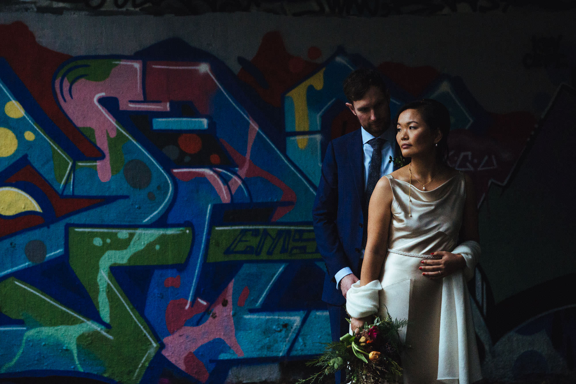 graffiti wedding pictures