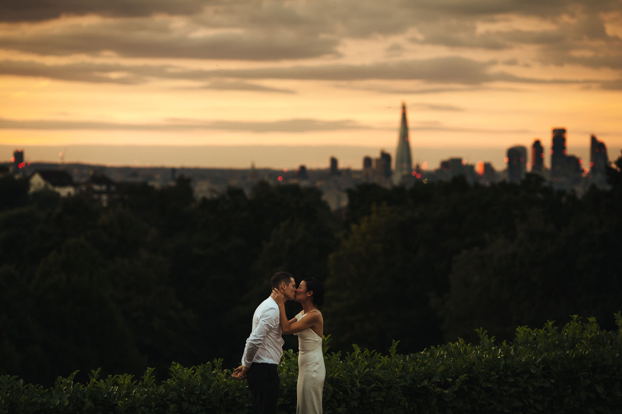 wedding portrait at horniman museum