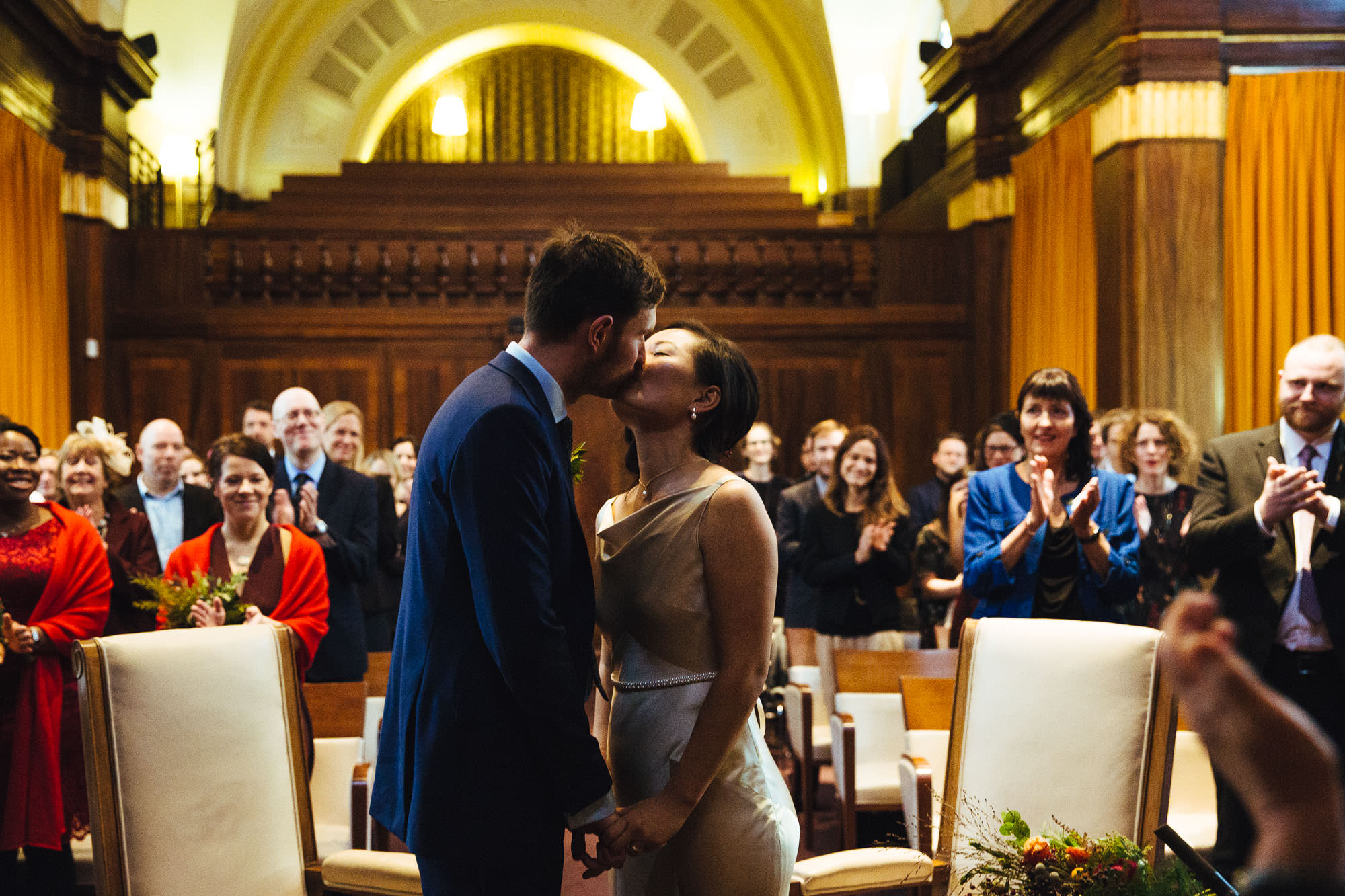 Stoke Newington Town Hall Winter Wedding