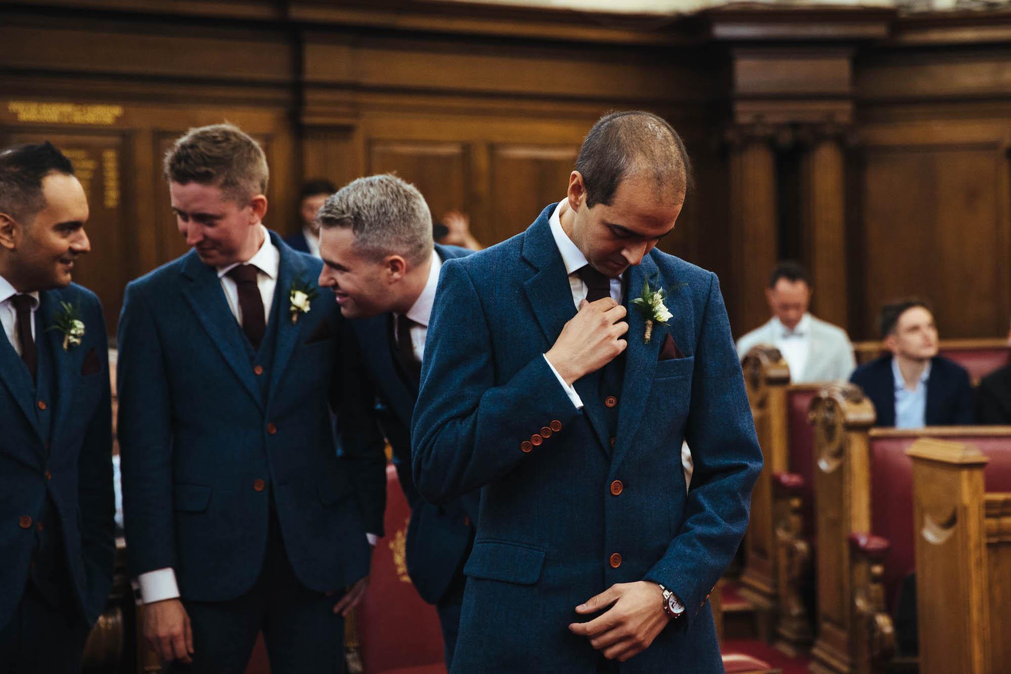 Islington town hall wedding