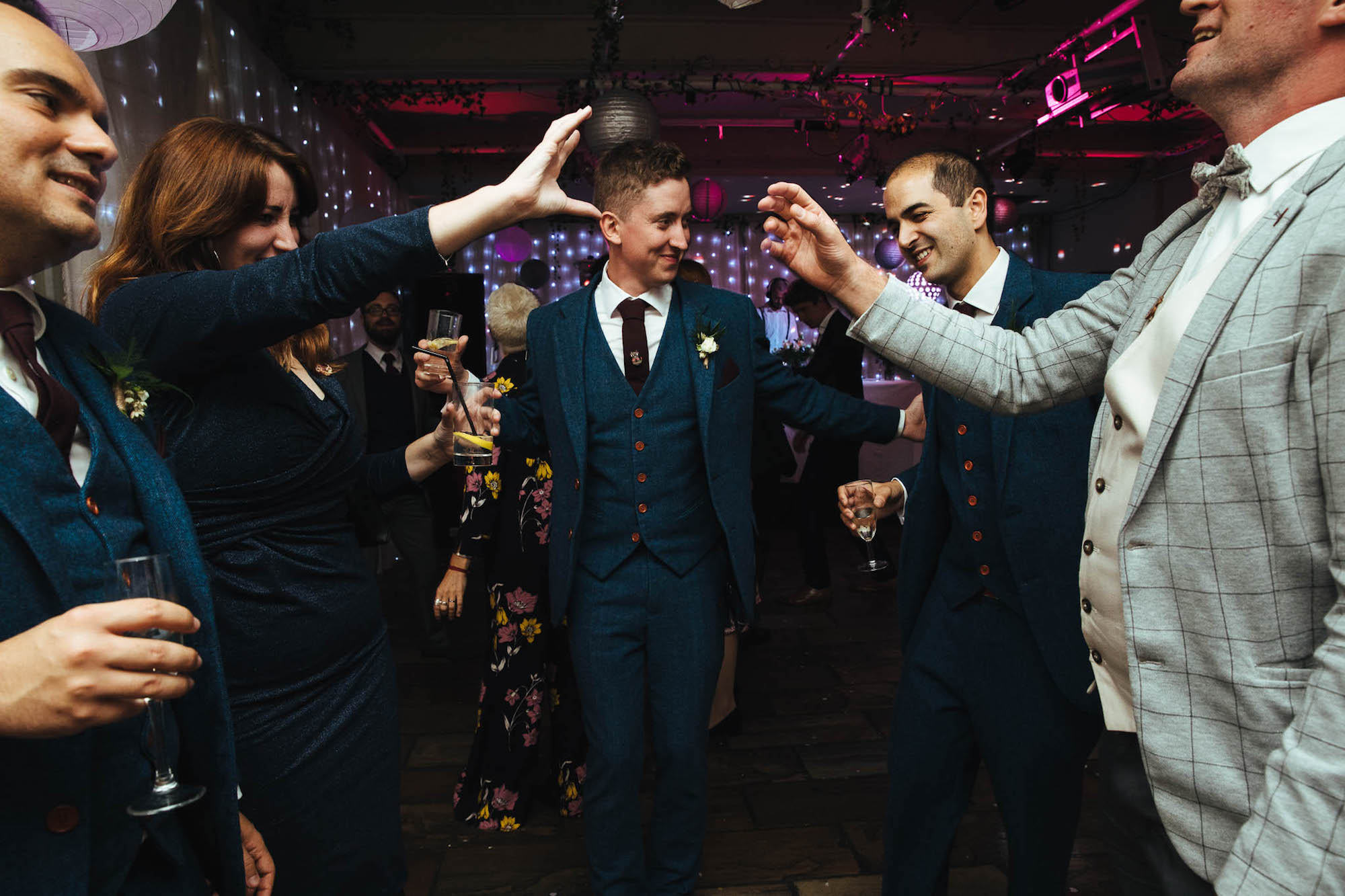 Islington metalworks wedding