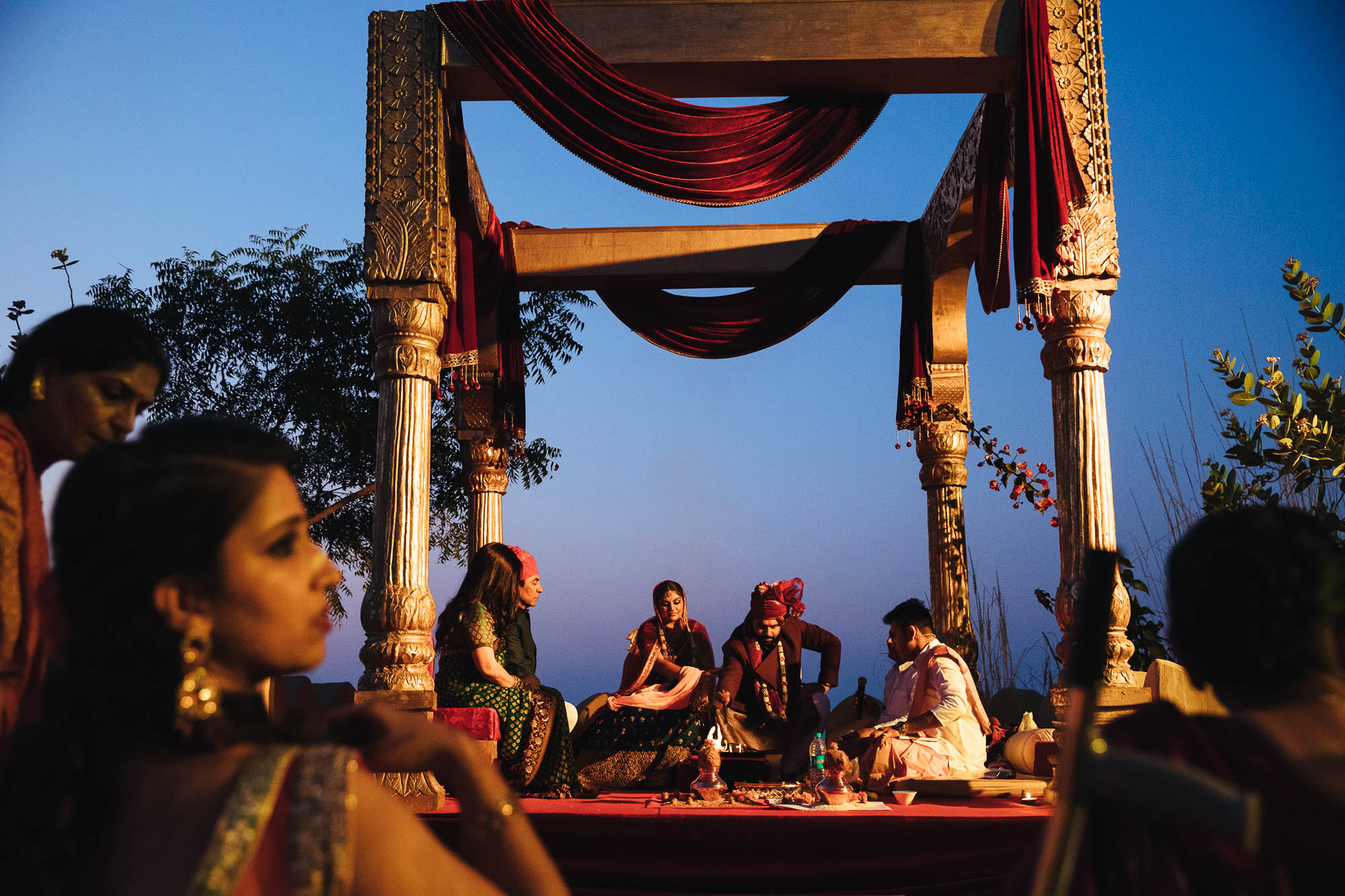 mihir garh wedding india