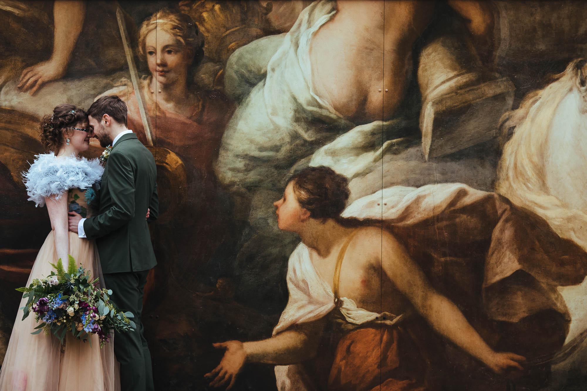 unique wedding photos Greenwich