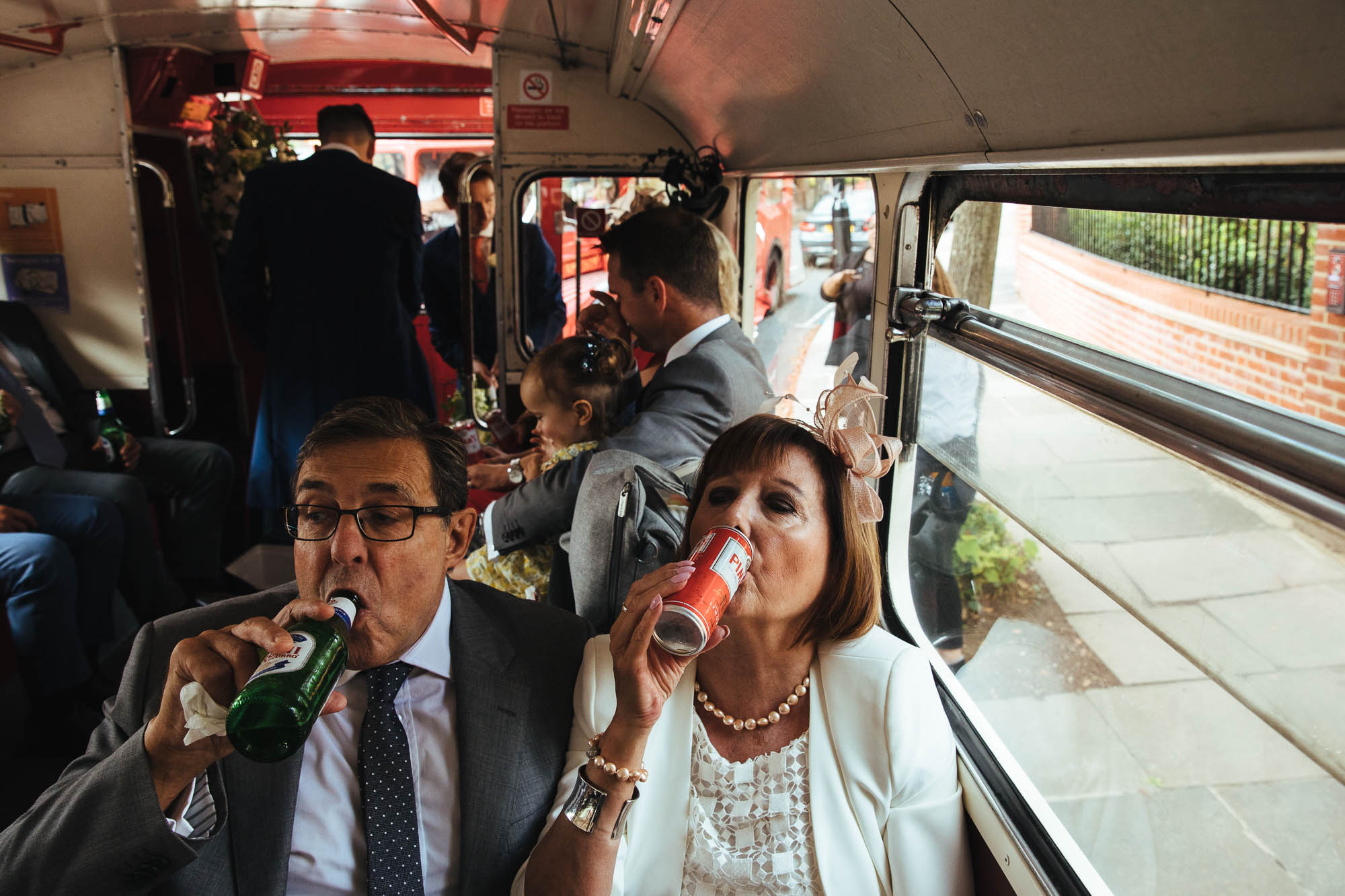 Routemaster for wedding