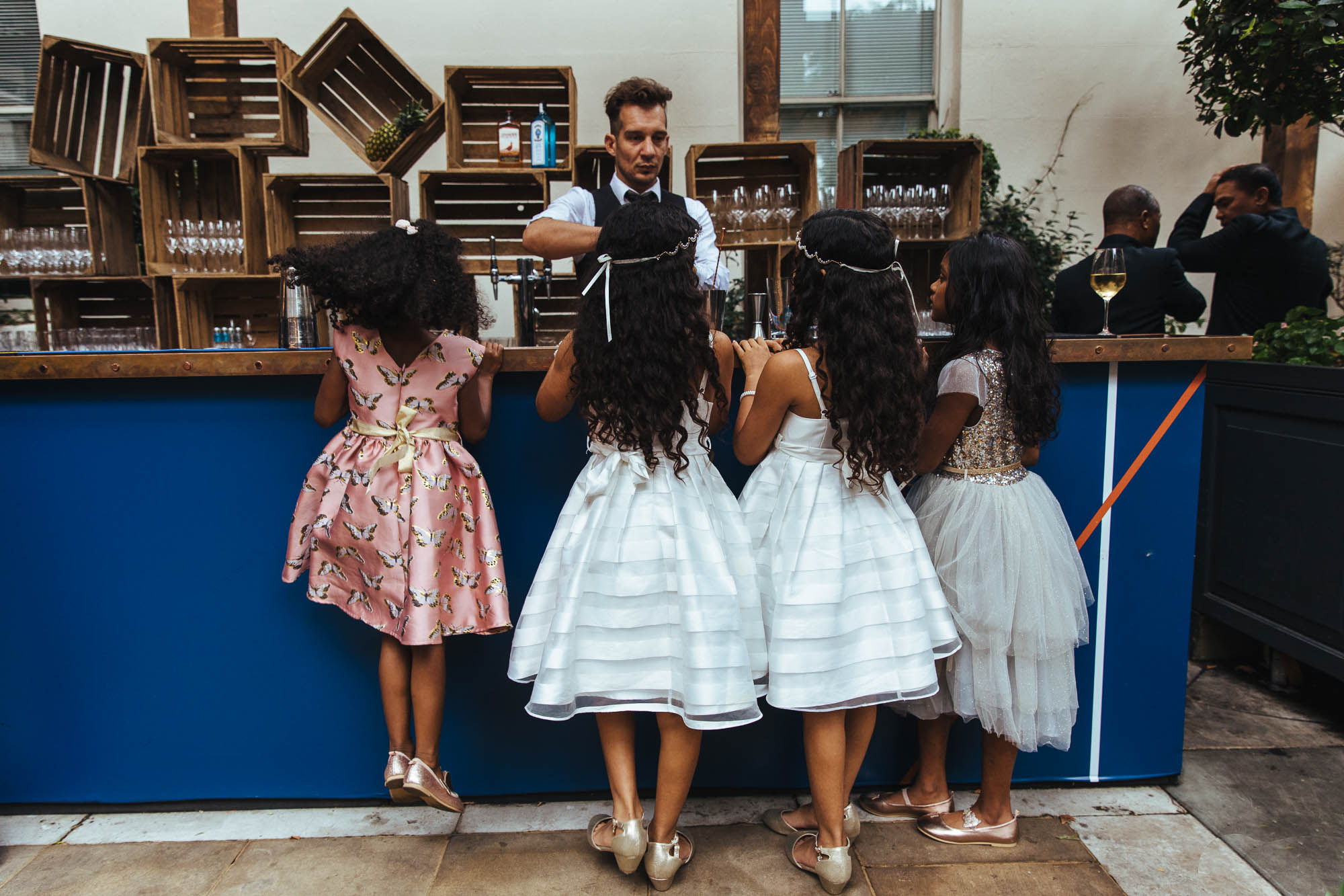 matching flowergirl outfits