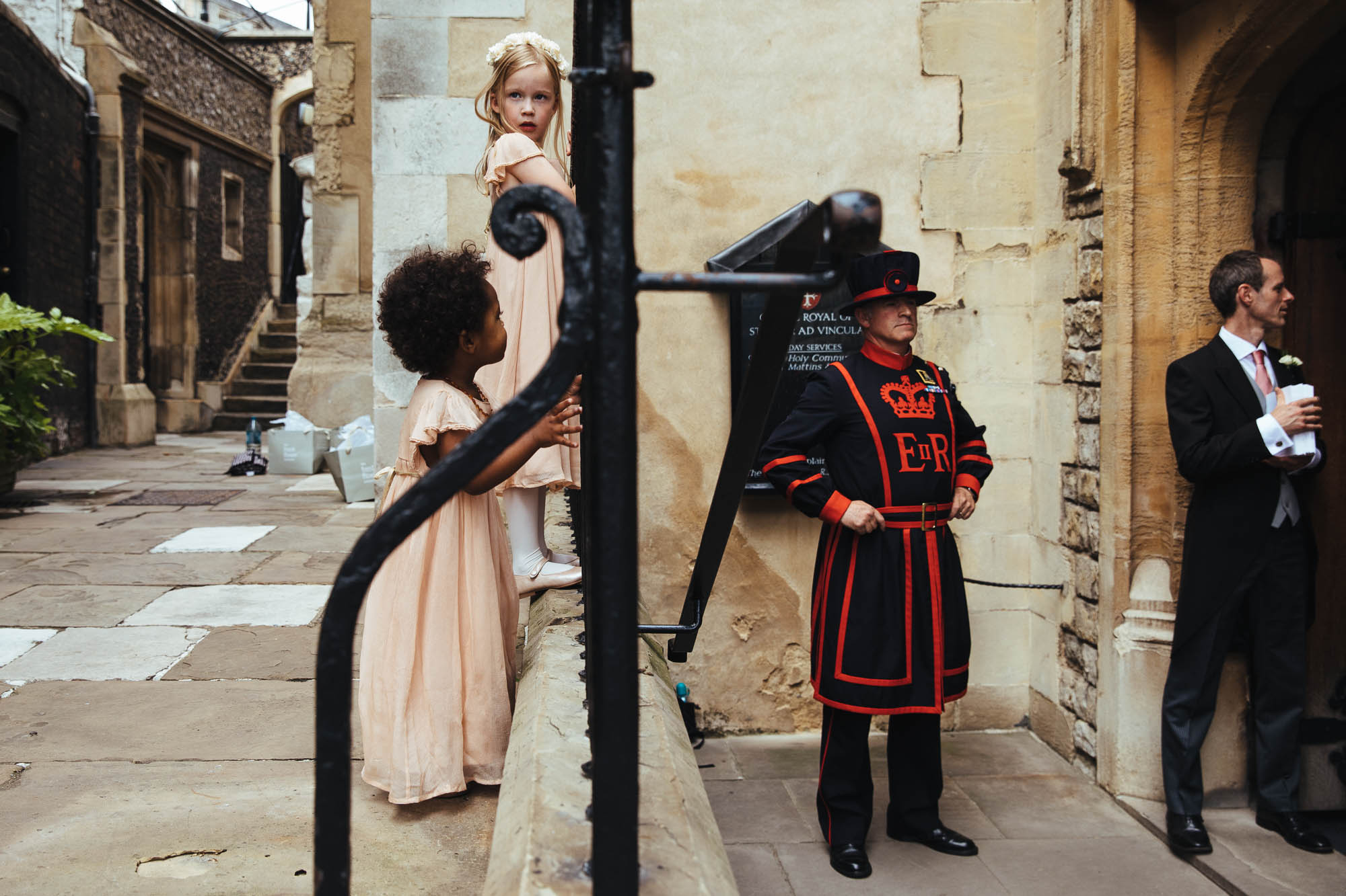 wedding at the Tower of London