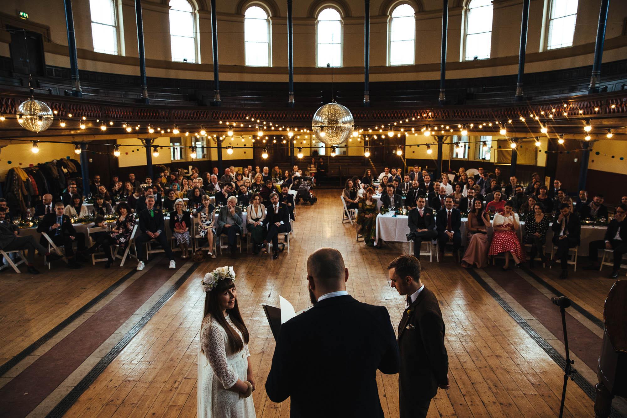 Wedding at Hackney Round Chapel