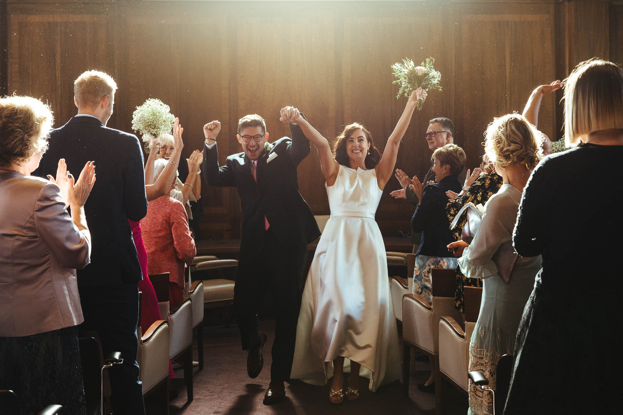 wedding ceremony Stoke Newington Town Hall