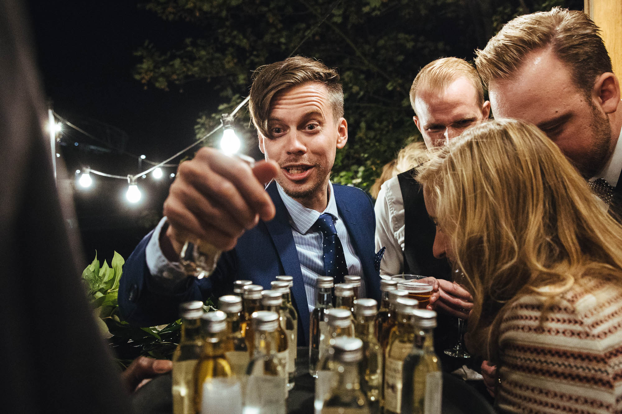 tequila shots at wedding