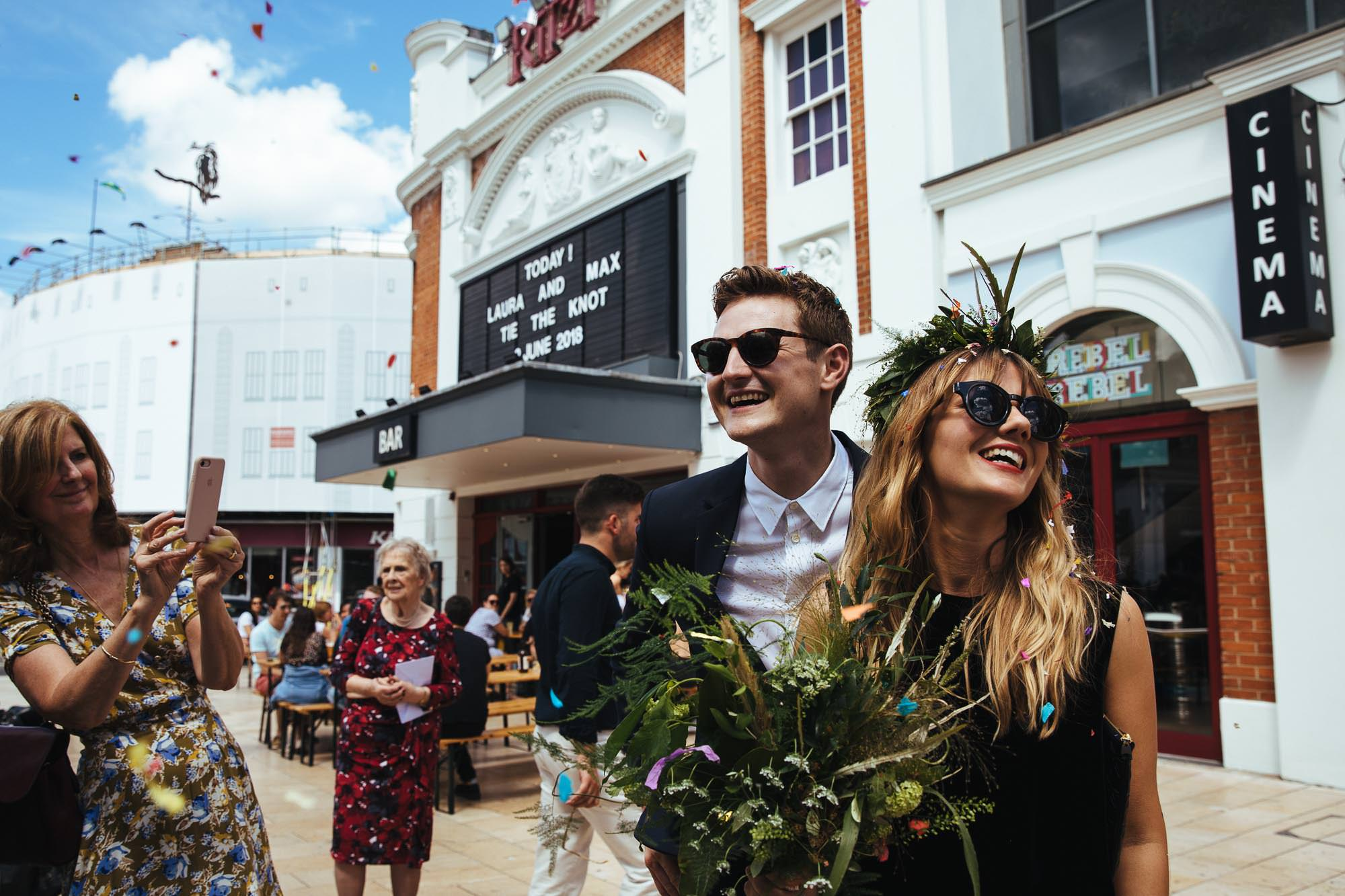 Ritzy Cinema Brixton Wedding