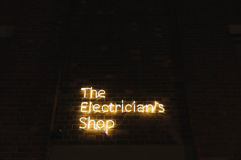the electrician's shop