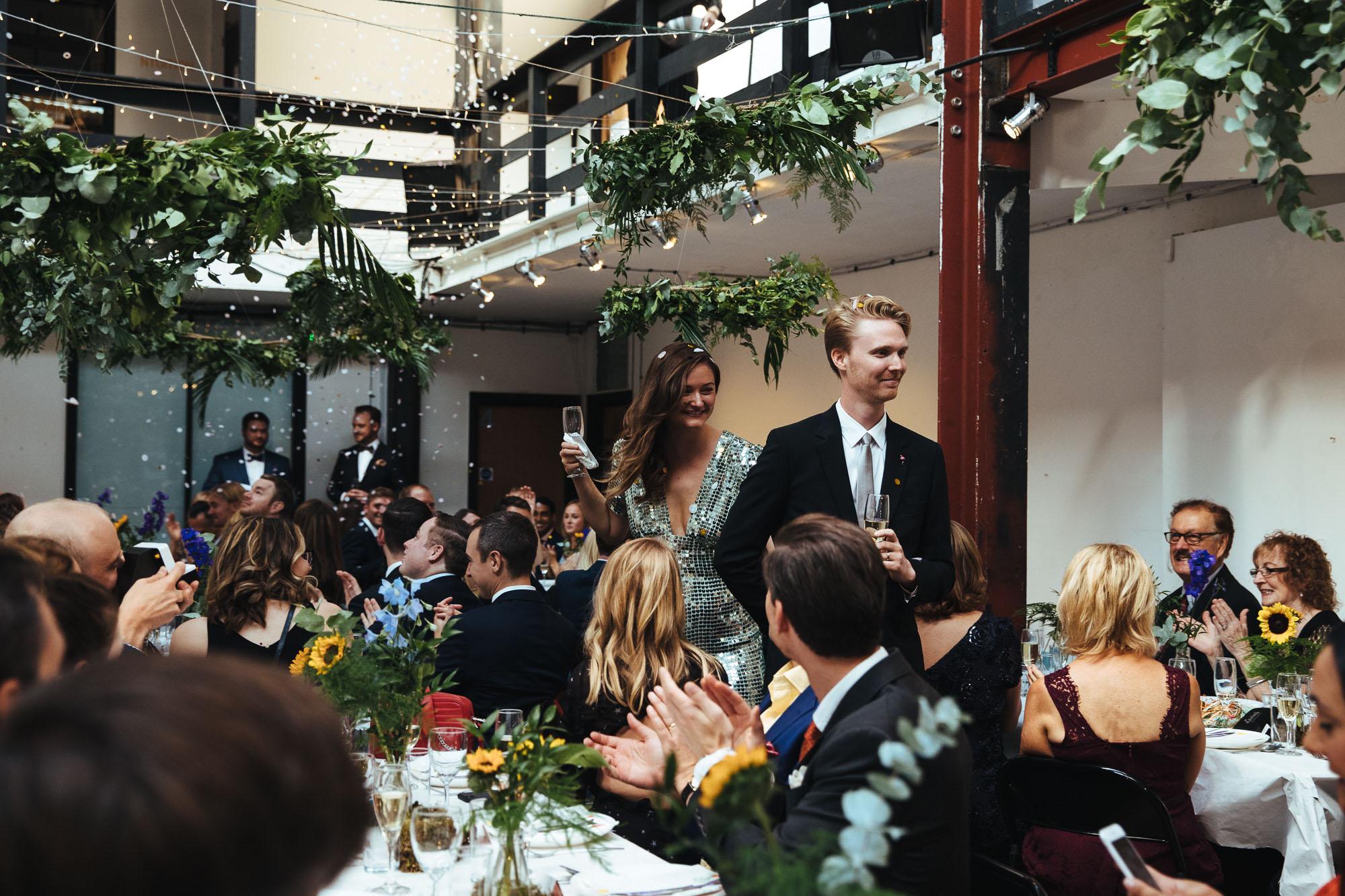 Stour Space Wedding