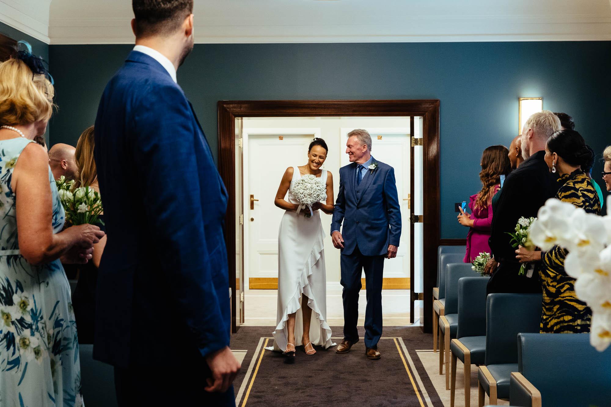 Hackney wedding