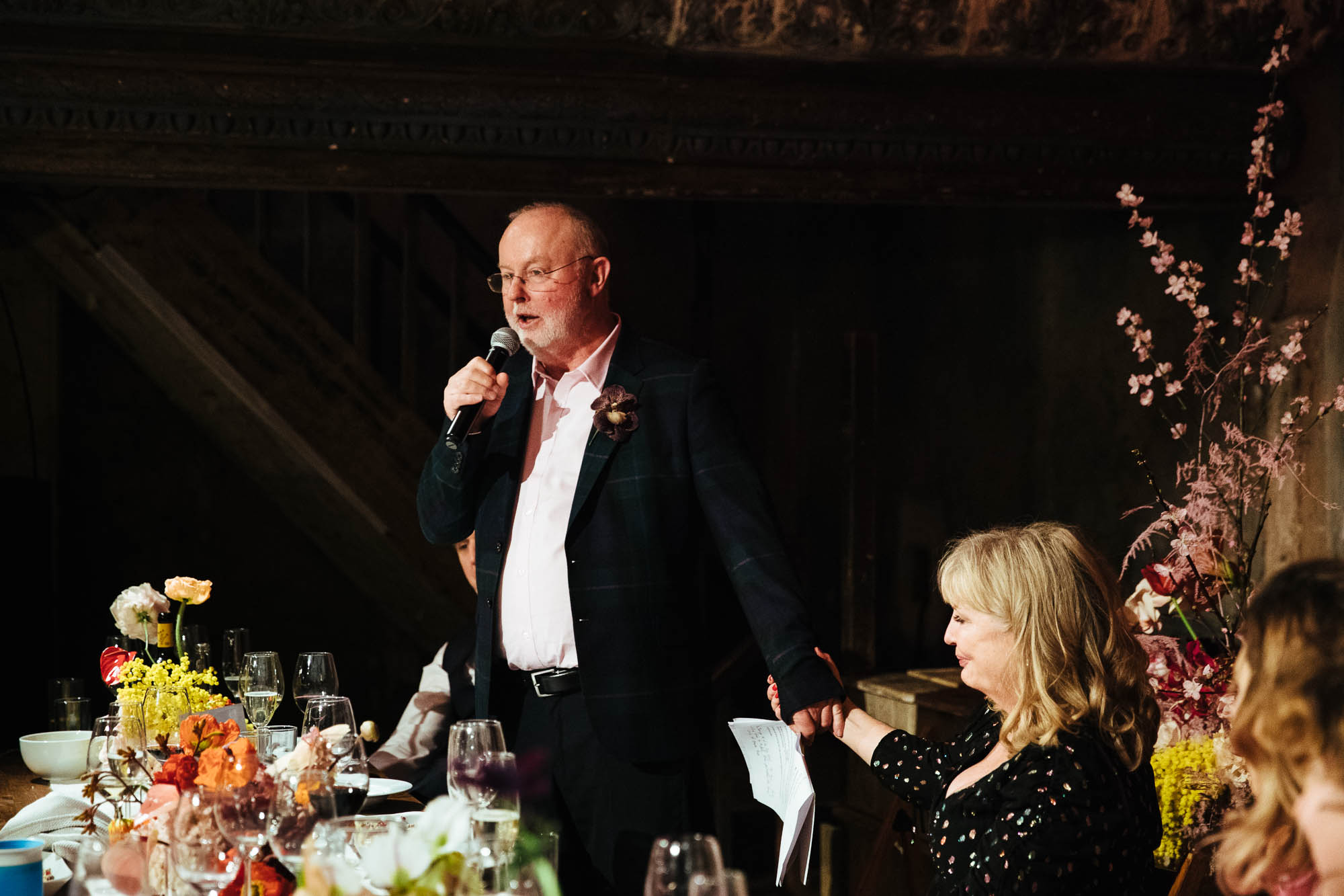 wedding speeches wilton's music hall