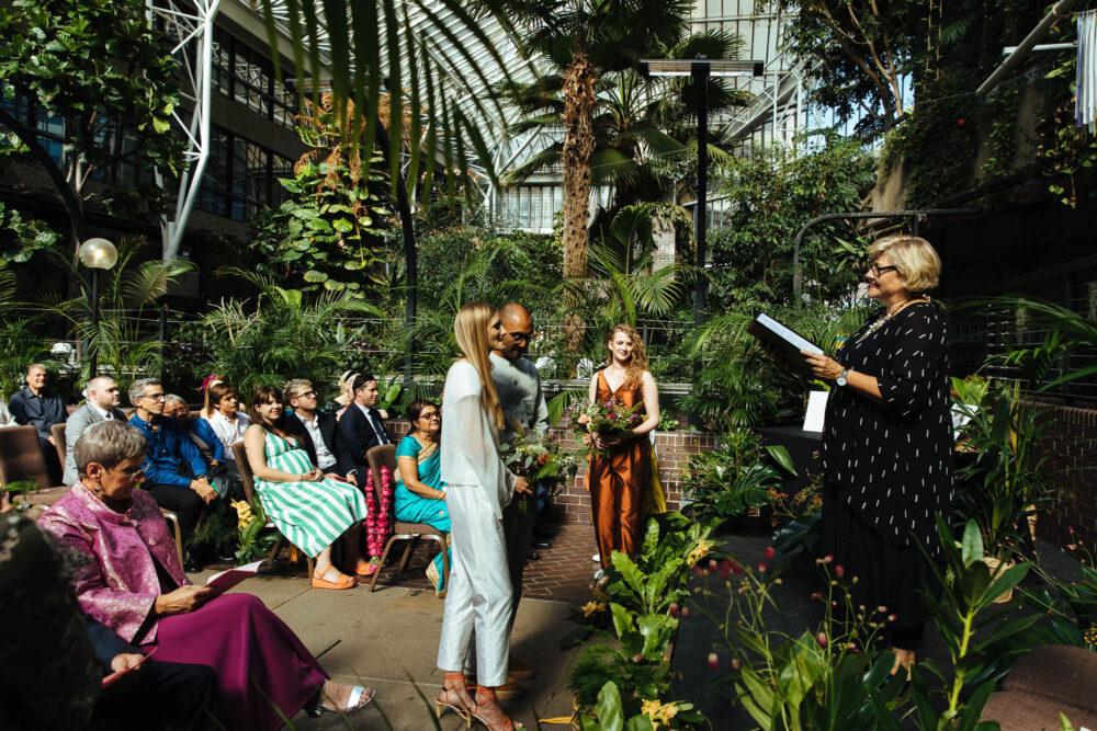 barbican conservatory wedding venue