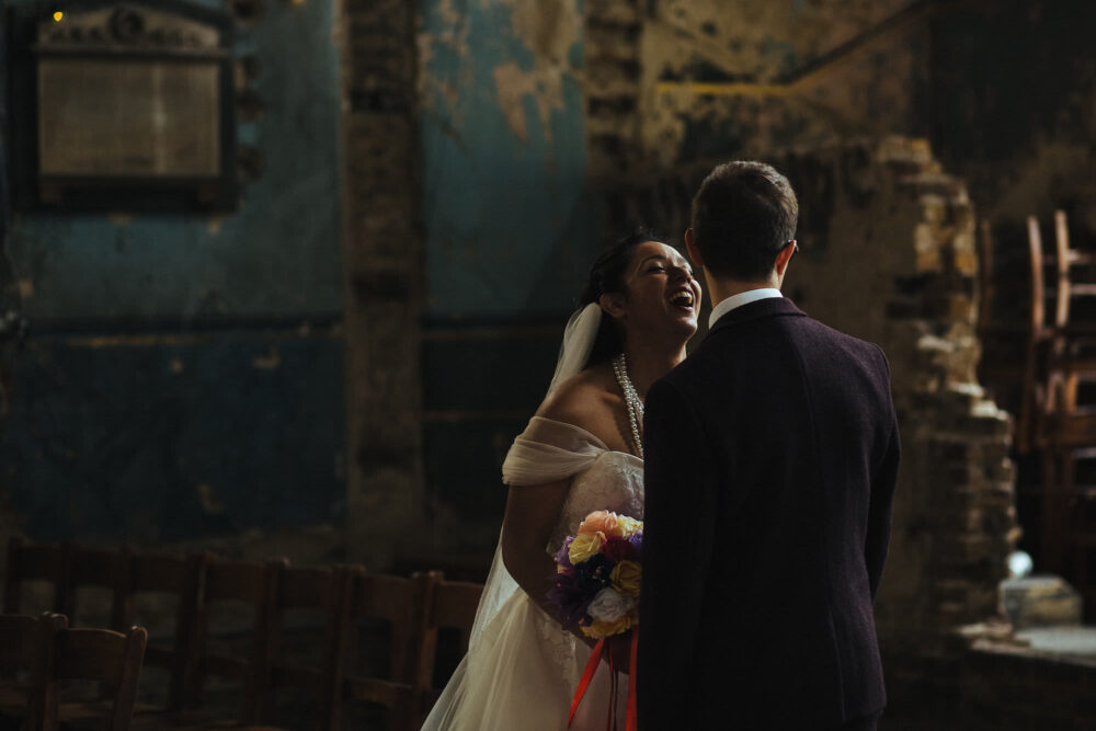 wedding photographer asylum chapel